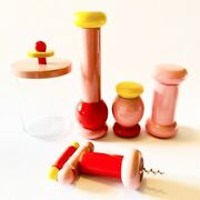 Twergi Alessi Complete Collection Pink Ettore Sottsass New In Box