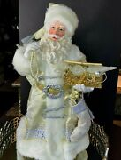 Department 56 Santa Possible Dreams Gold And Silver Christmas 24 Nos D5734