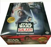 2018 Topps Star Wars Galaxy Trading Cards Factory Sealed 12 Box Hobby Case