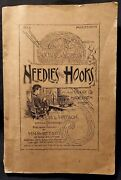Needles And Hooks, Victorian Sewing Booklet, Crochet Samples Inside