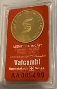 Scotiabank Suisse 1/2 Oz Gold Bullion 24k Round Sealed .9999. Store Your Gold