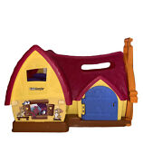Fisher Price Little People Disney Princess Snow White Cottage House Dwarf Home