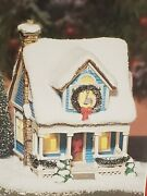 Mint Dept. 56 - New England Blue Cape Cod House - 2003 - Simple Traditions