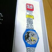 Mickey Mouse Limited Edition Swatch X Keith Haring Watch