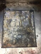 Mobil Oil Vintage Petrol Tim 1920andrsquos Fuel Gasoline Can Embossed 2 Imp Gallons