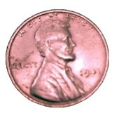 1941 Lincoln Wheat Penny No Mint Mark