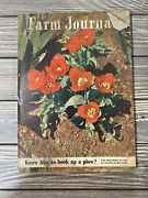 Vintage April 1949 Farm Journal Magazine Know How To Hook Up A Plow