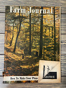 Vintage October 1950 Farm Journal Magazine How To Make Your Plans