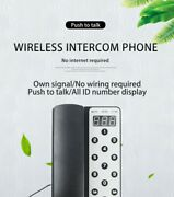 Replaces Portable Replacement Wireless Pair Of Host Landline Phones For Office