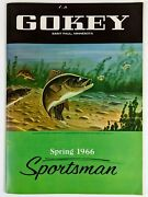 1966 Gokey St Paul Mn Sportsman Product Catalog Outdoor Clothing Equipment Shoes