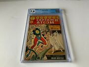 Captain Atom 86 Cgc 7.0 White Pages Nightshade Ghost Blue Beetle Charlton Comics