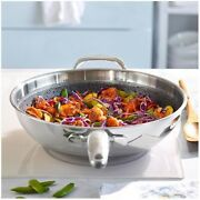 Pampered Chef Stainless Steel Nonstick Wok 100111 - Free Shipping