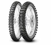 Pirelli Scorpion Mx32 Motorcycle Front/rear Tires Tt 80/100-21 And 110/90-19