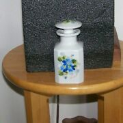 Bernardaud And Cie Bandc Limoges France Signed Perfume/ Vanity Bottle Hand Painted