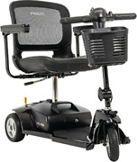 Pride Mobility Go-go Ultra X 3 Wheel Travel Mobility Scooter Black