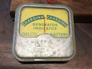 Vintage Delco Battery Charging Generator Indicator Gauge A-728 Classic Car Tool