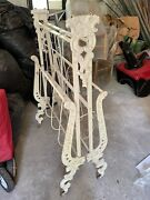 Victorian Civil War Era Cast Iron Folding Campaign Bed Ives And Allen Montreal