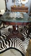 Chess Table Marble Top