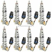 For Ford Excursion F250 6.0l Powerstroke Complete Diesel Fuel Injector Set