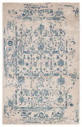 Jaipur Living Margate Handmade Oriental Light Gray/ Blue Area Rug 9and039x12and039