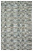 Jaipur Living Carrie Handmade Trellis Blue/ Beige Area Rug 8and03910x12and039