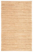 Jaipur Living Canterbury Natural Solid Tan/ White Area Rug 9and039x12and039
