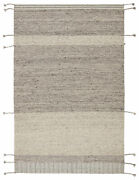 Jaipur Living Coolidge Handmade Striped Gray Area Rug 5and039x8and039