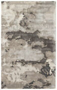 Jaipur Living Glacier Handmade Abstract Gray/ Silver Area Rug 8and039x10and039