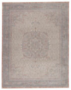 Jaipur Living Epsilon Medallion Red/ Blue Area Rug 7and03910x9and03910
