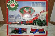 Lionel 6-30164 Santa's Flyer Ready To Run O Scale Train Set With Fastrack