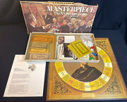 Masterpiece The Art Auction Game 1970 Parker Brothers Board Game