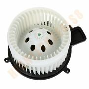 Hvac Heater Blower Motor With W/ Fan Cage For Chrysler /dodge Replacement