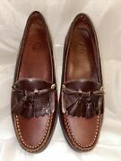Decoys By Auditions Womens Kiltie Tassel Loafers Size 10.5aa Brown