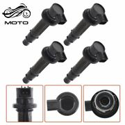 New Set Of 4 Ignition Coils Fit For Yamaha Mt-07 R6 Rj15 Bj Yzf R1fz8 F6t558 Us