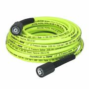 Flex.zilla Pressure Washer Hose With M22 Fittings, 1/4 In. X 50 Ft, Zillagreen