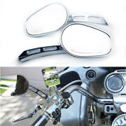 Chrome Motorcycle Rear View Mirrors For Victory Cross Country Cory Ness Tour