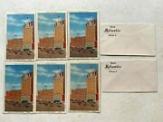 Vintage 1940s Hotel Atlantic Chicago Il Two Envelopes And Six Postcard Lot