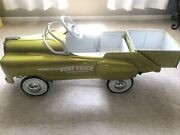 Vintagerare 1950and039s Murray Sad Face Dump Truck Pedal Car