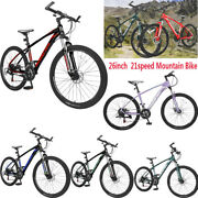 26 21 Speed Mountain Bike Bicycle Mtb Pro Aluminum And Disc Brakes For Adult Gift