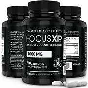 Focus Xp Memory And Focus Booster Brain Supplement Advanced Mind Clarity Nootropic