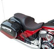 Drag Predator Iii Forward Position Low 2-up Seat Solar Red Diamond Indian 14-up