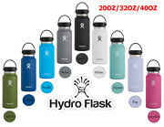 New Hydro Flask Water Bottle Wide Mouth 20oz / 32oz / 40oz - Free Shipping