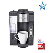 Powerful K-compact Single-serve K-cup Pod Ground Brewer Coffee Maker Gray New