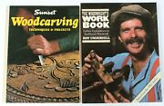 Set Of 2 Woodcraft Books The Woodwrightand039s Workbook + Sunset Woodcarving