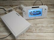 Used Wii U Kiosk Console Wis-001 W/ New Gamepad Cables Etc - Tested Htf