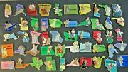 Disney- State 3d Character Set Complete All 50 States 2002 Pins