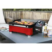 Portable Table Top Gas Grill Griddle Outdoor Flat Outdoor Cooking Bbq Food Truck