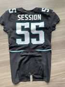 Clint Session Game Issued Jersey Jacksonville Jaguars Colts