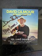 David Gilmour Signed/autographed Cd Yes I Have Ghosts Pink Floyd Rare