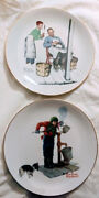 Norman Rockwell Decorative Collector Plates Lot Of 18
